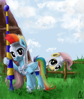 Joust for Honour by RainbowGambler