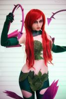 Zyra- rise of the thorns. by magnetrixcosplay