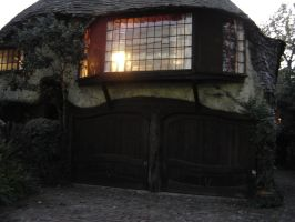 Hobbit-like house, Culver City by angelstar22