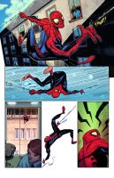 Spiderman sequentials by atombasher