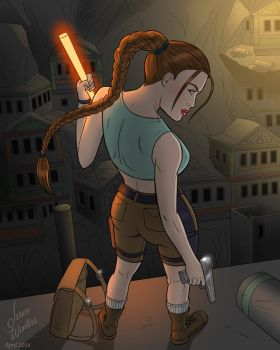 Lara Croft and the Lost City by JericaWinters