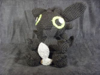 Toothless by jedimeg16