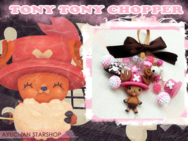 Chopper keychain by AyumiDesign