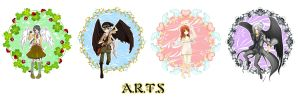 A.R.T.S angels 2009 by RoxanTrinity