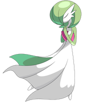 Gardevoir Vexel Graphic by mkovic