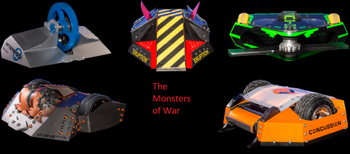 Monsters of War by IceandFireGuy