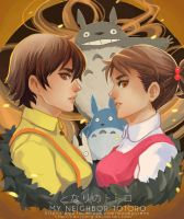 My Neighbor Totoro by maorenc