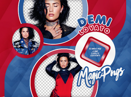 PACK PNG 742| DEMI LOVATO by MAGIC-PNGS