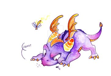 Spyro the dragon by Raanres