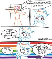 Rainbow Dash is AWESOME (Comic) by artwork-tee