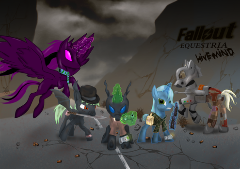 Hivemind Group Shot Redux (1 of 2) by AnubicDarque