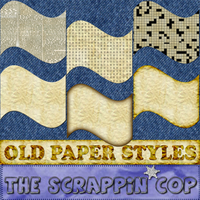 Old Paper Layer Styles by debh945