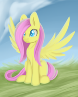 Fluttershy~ by Dusthiel
