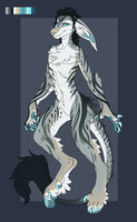 Female Anthro Vernid [Auction][OPEN] by TheAdoptArtist