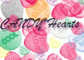 Candy Hearts Brushes by chibibrushes