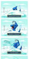 Ice Charmeleon by LinkerLuis