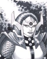 Big Barda by craigcermak