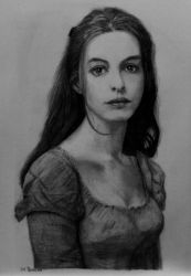 Anne Hathaway in Les Miserables by shuckaby