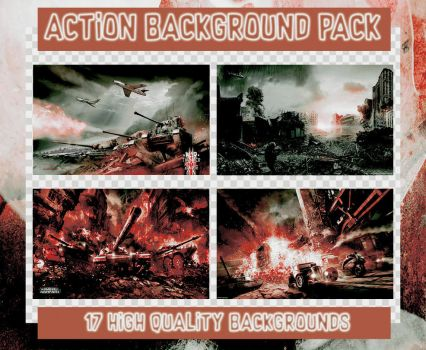 Action Background Pack by toneyteee