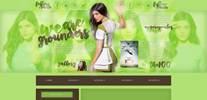 Design ft. Marie Avgeropoulos by PetulaT