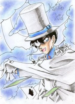 Kaito Kid by Conzy94