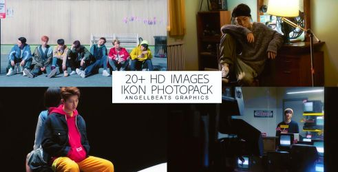 IKON [Love Senario MV] Photopack by AngellBeats