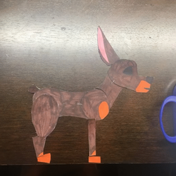 Doggy went free! (Paper-Cut Animation) by 18Gingasoldier