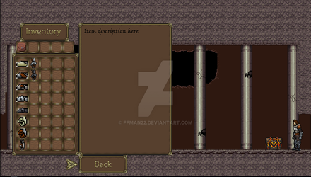 inventory menu GUI WIP judgement project by ffman22
