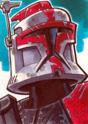 Captain Fordo phase 1 Sketch Card by Chad73