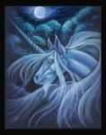 Moonlight Unicorn by silvestris