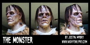 THE MONSTER FINISHED by Justin-Mabry