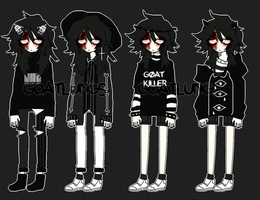 Persona clothes ref by Goatlungs