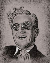 Peter Sellers as Dr Strangelove by ecofugal