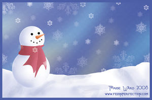 Holiday Card Illustration by sweetmorpheus