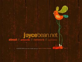 Joycebean v1 web layout by twentyhours