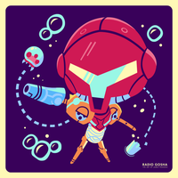 Metroid: Samus Return Nintendo Minute piece by GoshaDole