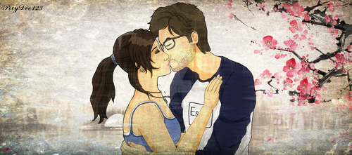 Lara and Alex by PixyDee123