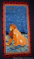 The Lion King - Simba and Nala Towel from Germany by dapumakat