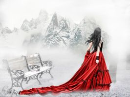 Lady In Red by BloodyMary-NINA