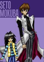 Kaiba Brothers by QuirkBiscuits