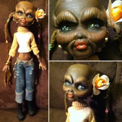 Monster High Custom: Sillah the Weequay by TerribleToadQueen