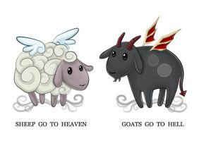 On sheep and goats by Izabella