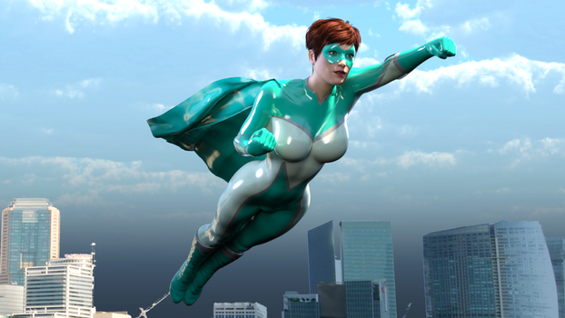 Maxima Maid:High Flying Heroine by rustedpeaces by Freedom-Legion