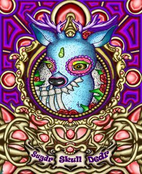 The Sugar Skull Dear by TechBehr