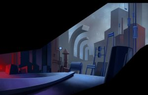 Teccon : The Long Journey - Background 15 by berov