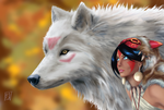 Princess Mononoke by David-Laws