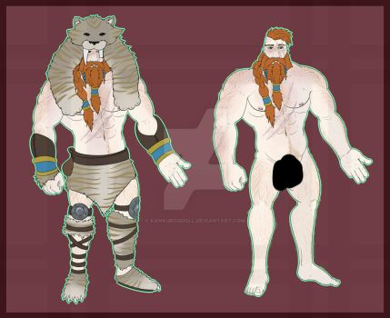 [ADOPTS] Barbarian Hunk! [OPEN] by kankurosdoll