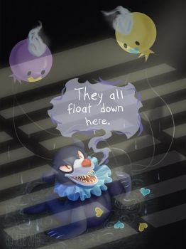 Pennywise The Popplio by WheresMyALE