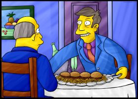 Steamed Hams but it's a Screencap Redraw by CeliaStarbeam