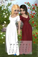 July 2013 - Snow White and Rose Red by LadyNightVamp